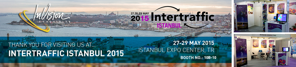 Thank you for visiting us at Intertraffic Istanbul 2015