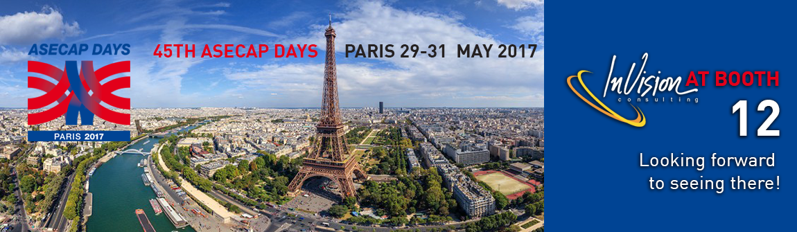 45TH ASECAP DAYS / PARIS 29-31 MAY 2017
