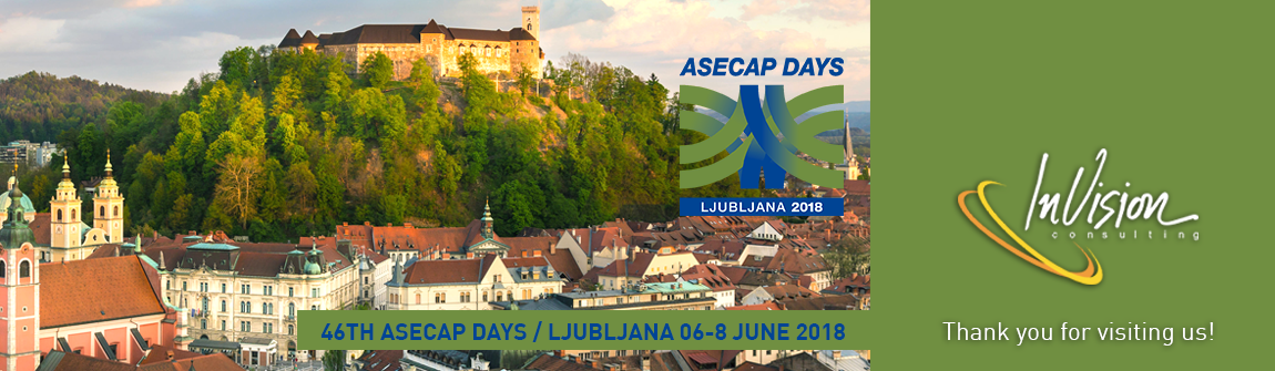 46TH ASECAP DAYS / LJUBLJANA 06-08 JUNE 2018