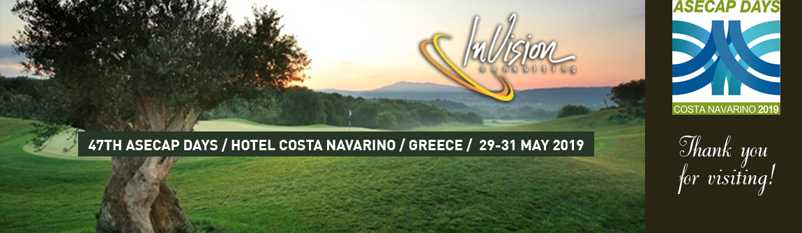 47TH ASECAP DAYS / HOTEL COSTA NAVARINO /  GREECE / 29-31 MAY